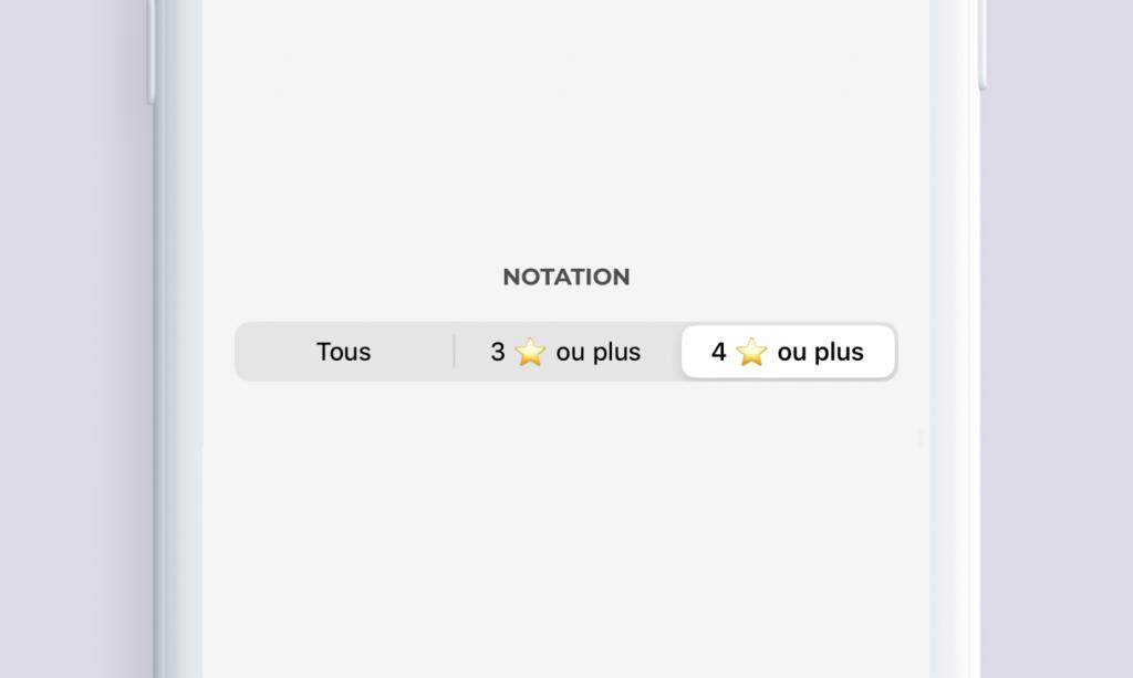 Filtre Chargemap Plus notes