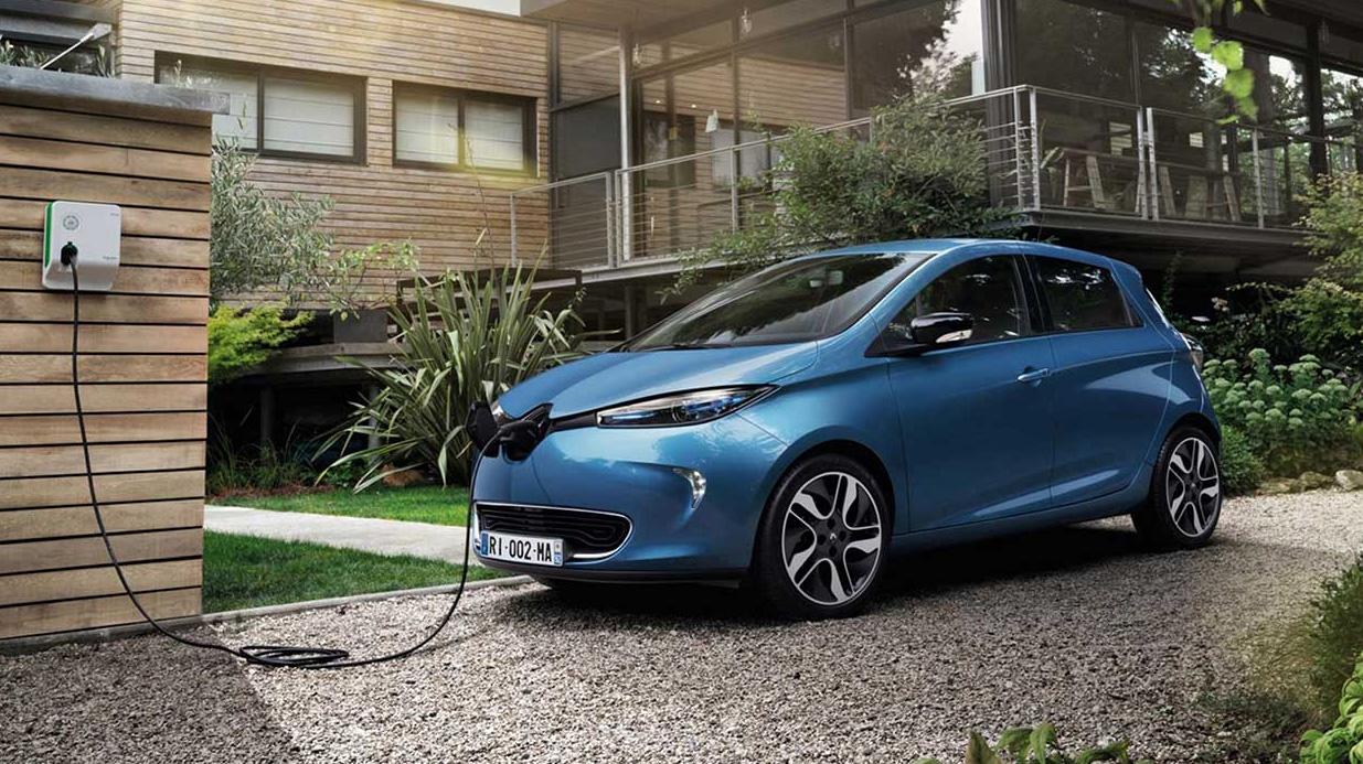 Home charging Renault Zoe