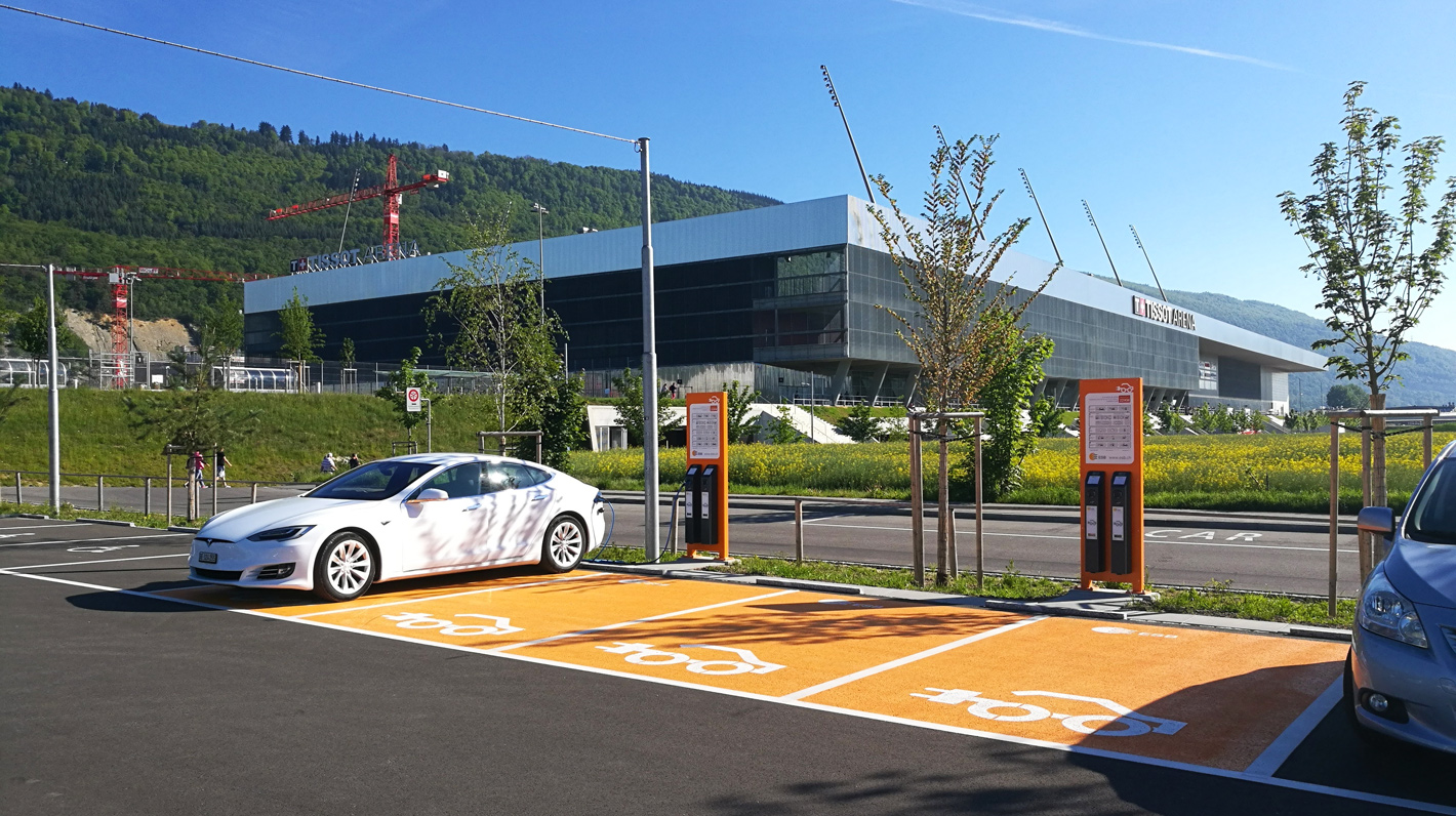 Chargemap Pass compatible charging station Switzerland