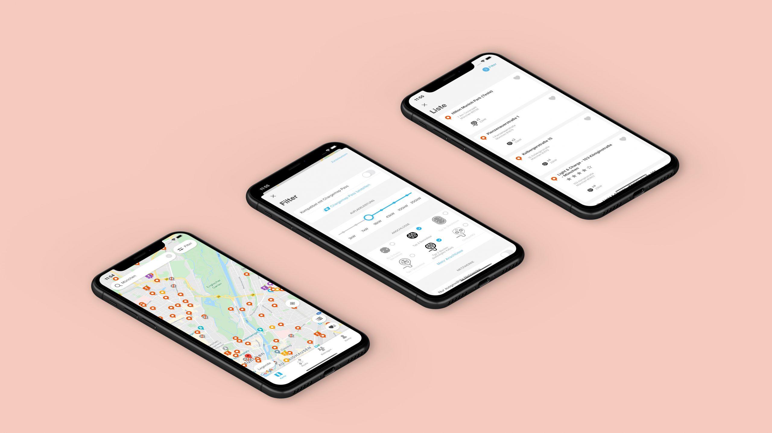 Verbesserungen der Chargemap-App Mai 2020