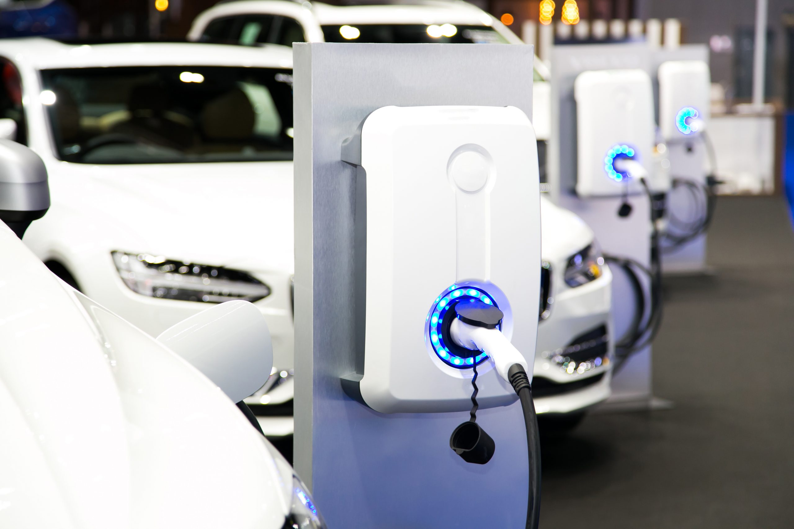 Electric fleet of vehicles charging