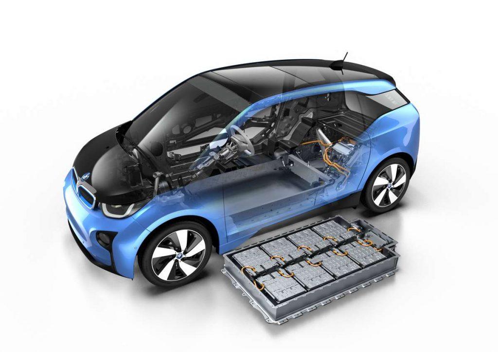 BMW i3 Elektroauto mit Range Extender