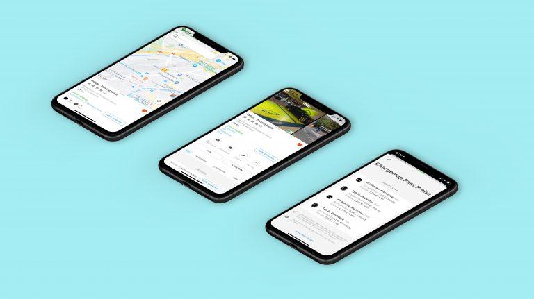 Aussehen der Chargemap-Mobil-App - Design-Refresh und UX-Verbesserungen