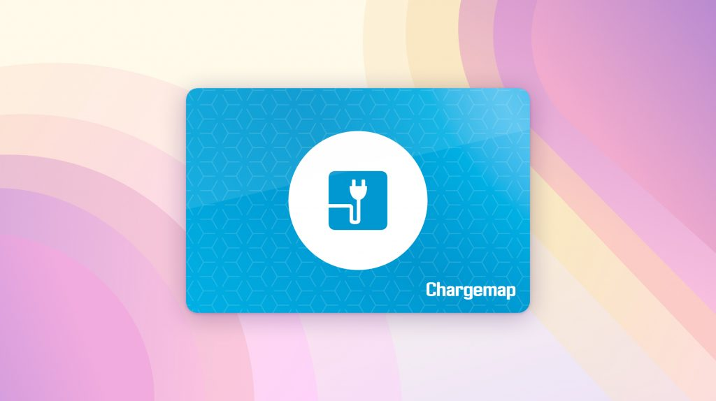 Visual of the Chargemap Pass - Access more than 100,000 charging stations