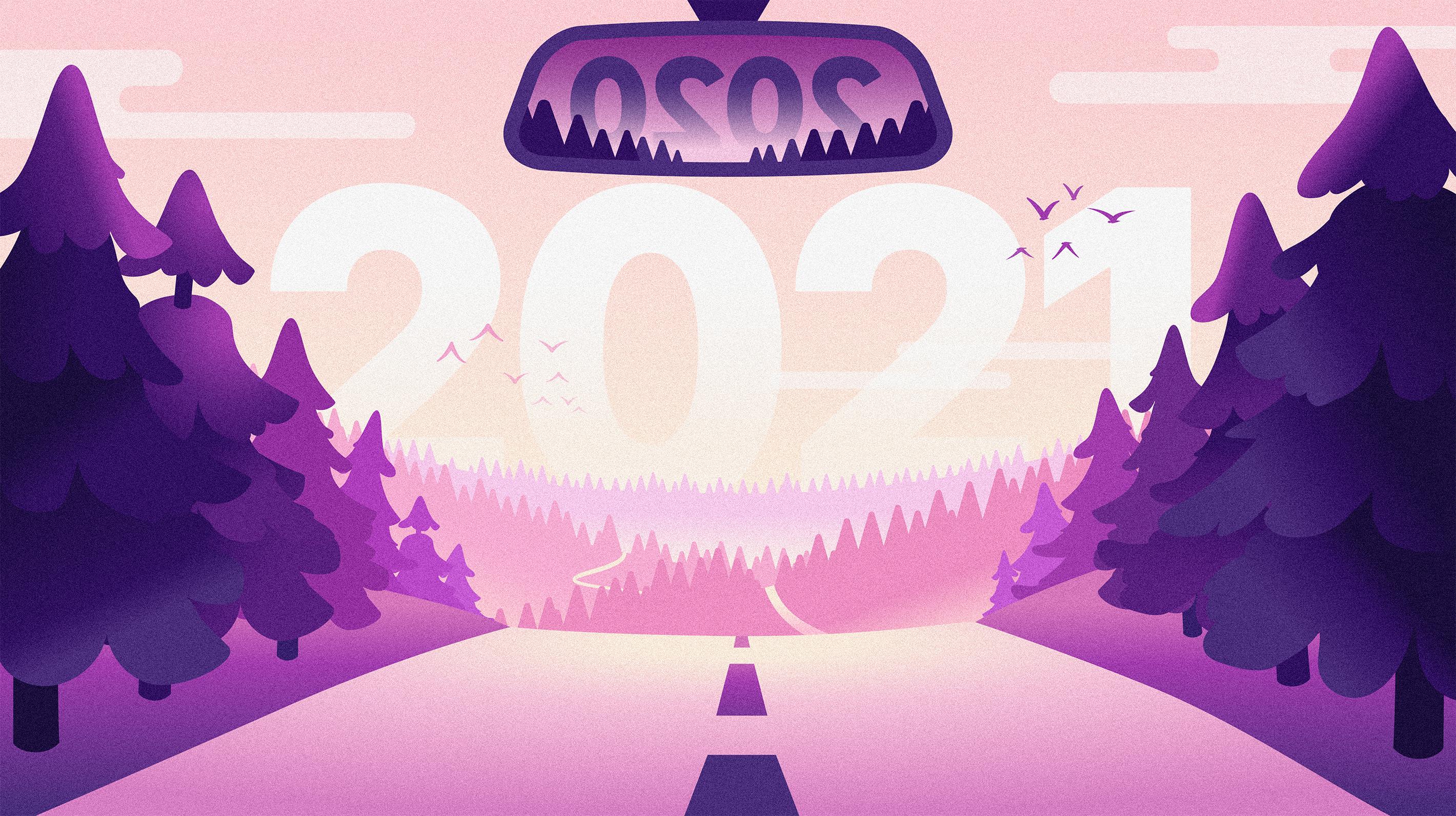 Chargemap Neujahrskarte 2021