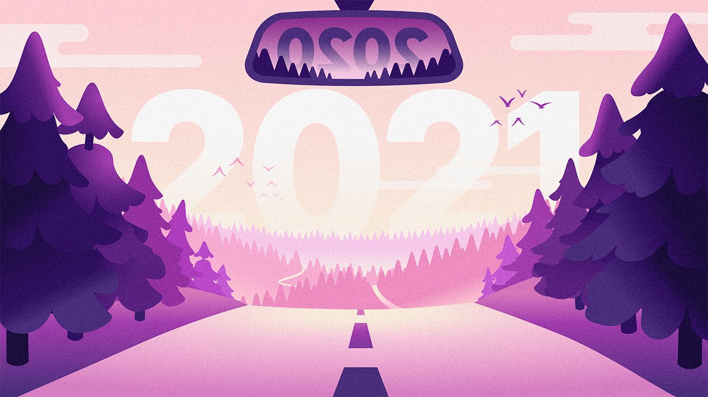 Visuel de carte de voeux 2021 Chargemap