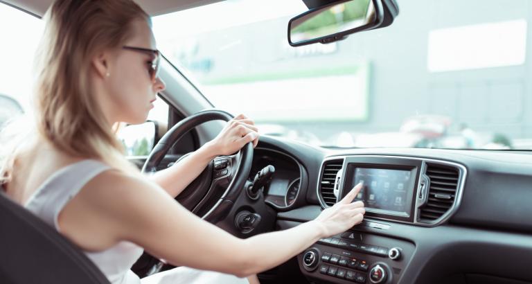Départ en vacances en voiture électrique