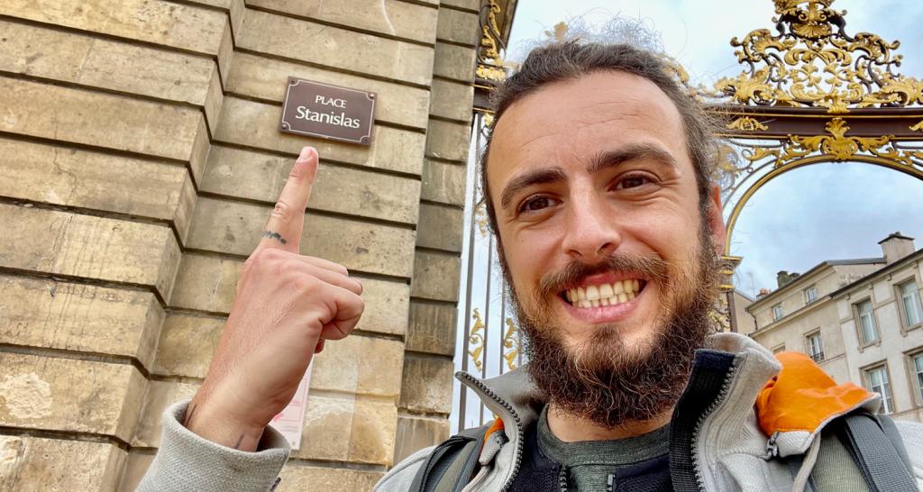 Stanislas at the Stanislas square of Nancy, France